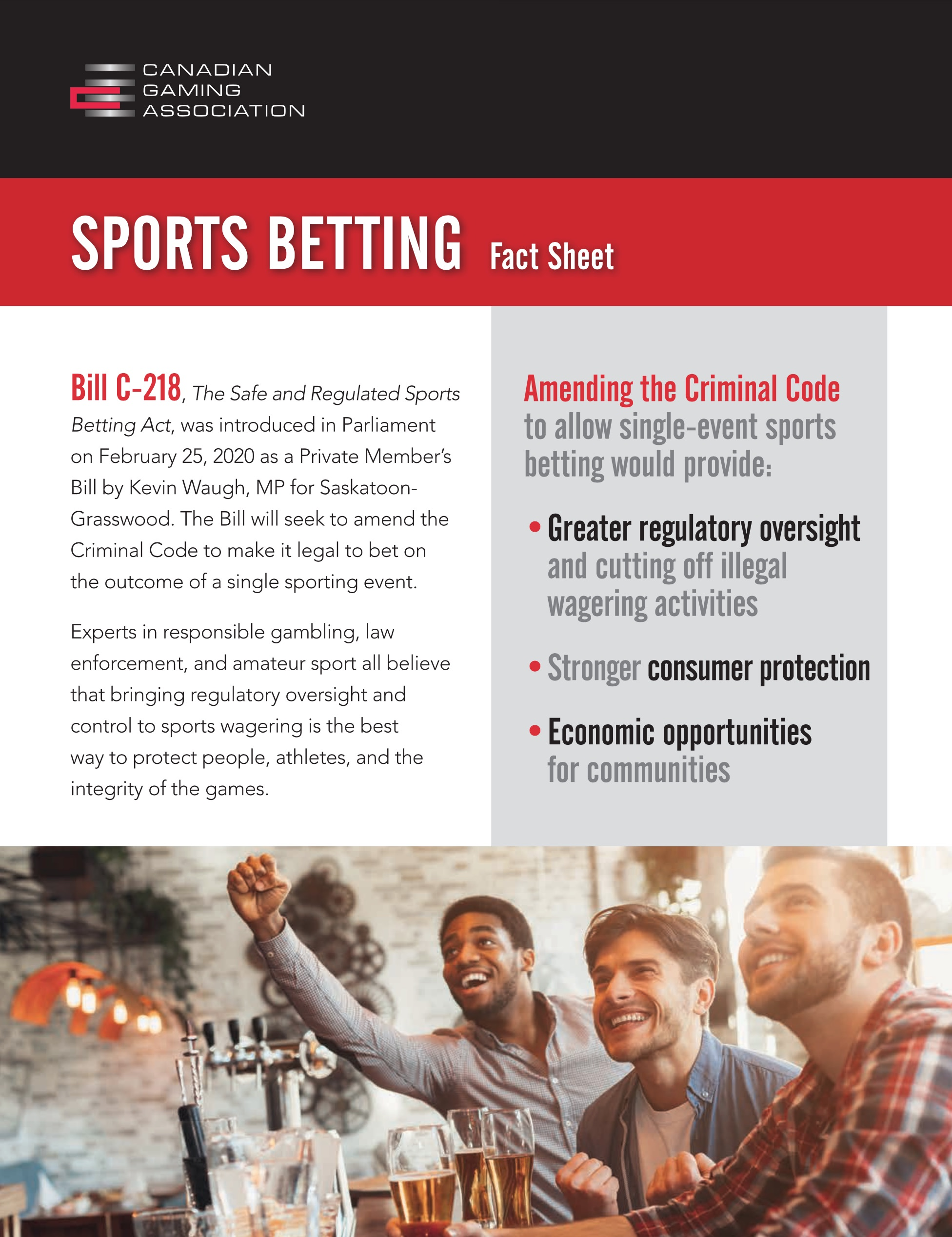 CGA Sports Betting Fact Sheet